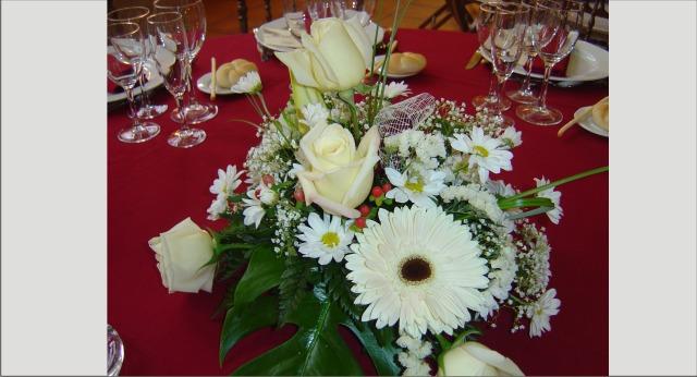 Centros de mesa para bodas madrid floristerias bodas sencillos econ micos originales - Precios de centros de mesa para boda ...