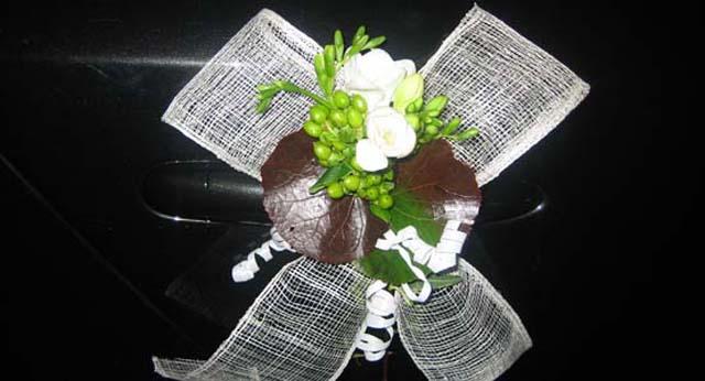 Coche Boda Allium Floristas