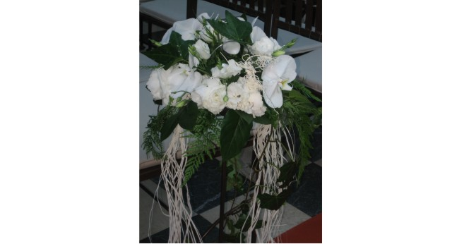 decoracion floral boda civil