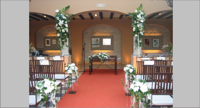 Decoracion bodas de plata allium floristas for Budas decoracion interior