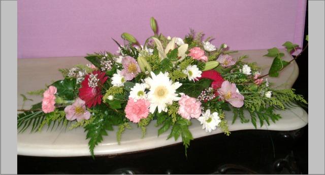 Decoracion bodas de oro allium floristas for Decoracion 40 aniversario de bodas