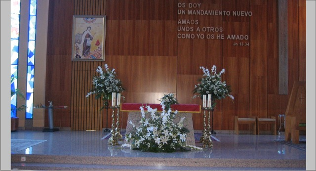 decoracion boda iglesia madrid