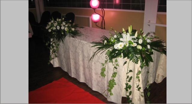 Decoracion bodas de plata allium floristas - Decoracion para bodas de plata ...