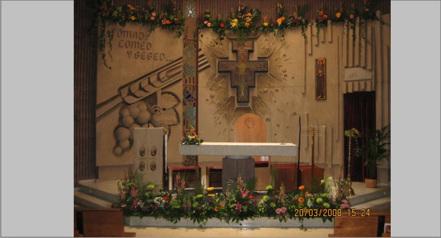 iglesia madrid decoracion boda