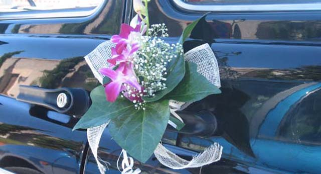 Decoraci n para coches inspiraci n morado foro antes de la boda - Decoracion coche novia ...