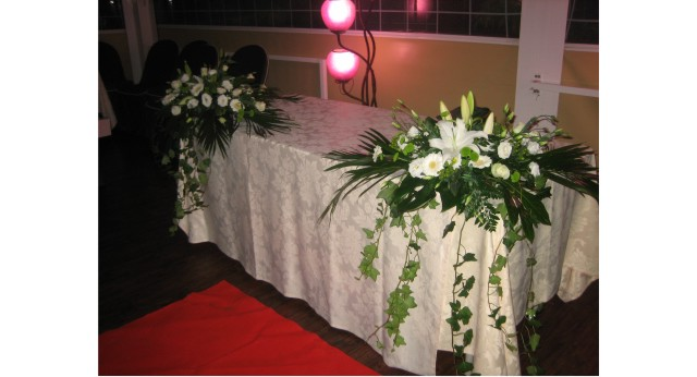 decorar flores ceremonia interior