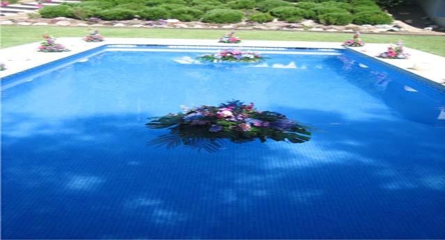 floristeria decorar piscina
