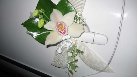 decoracion floral coches bodas