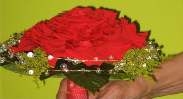 ramo de flores secas ramos flores secas novia