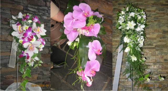 domicilio madrid ramo de orquideas